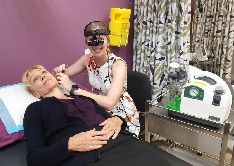 A doctor performs Ear Micro Suction Victoria Point