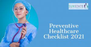 Preventive Healthcare Checklist for 2021, Preventive health Victoria Point Brisbane